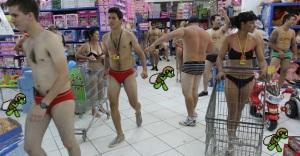 Os brasileiros vão as compras: Fujam para as colinas!